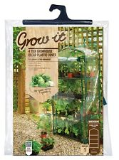 Gardman 4 tier greenhouse growhouse remplacement housse pour plantes de jardin soins