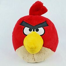 "Angry Birds 8"" Plush Red Bird Yellow Beak Stuffed Animal Toy Ball"