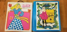 Vintage Barbie Doll Lot & Case With over 30 Clothes Lot