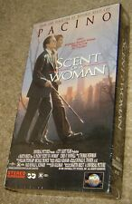 SCENT OF A WOMAN VHS, NEW AND SEALED, AL PACINO OSCAR WINNER, CHRIS O'DONNELL