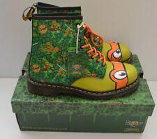 Dr Martens Adulto TMNT Mikey Botas Zapatos Teenage Mutant Ninja Turtles Talla 12