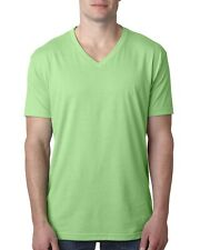Next Level Apparel Men's 4.3 oz. CVC V-Neck Short Sleeves T-Shirt 6240 S-2XL