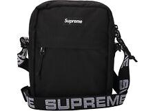 Supreme SS18 Black Shoulder Bag Cordura Fabric