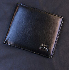 Mens Business Leather Wallet Pocket Card Holder Clutch Bifold Slim Purse Black