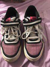 Nike Vandal Low Women's Size 9 Lace Basketball Shoes Purple Black White Used