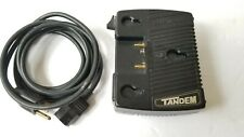 Anton Bauer 8475-0067 Tandem Charger/Power Supply, Logic Series, Gold Mount