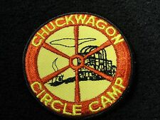 BSA VINTAGE CHUCK WAGON CIRCLE CAMP PATCH