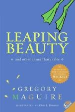 Leaping Beauty: And Other Animal Fairy Tales by Maguire, Gregory