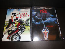 SWEET LIBERTY & THE WITCHES OF EASTWICK-2 movies-Michelle Pfeiffer, Cher, Alda