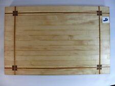 Cutting Board 9.75x15X1.125 Maple Walnut Chopping Block Hardwood CB9