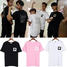 T-Shirt Damen Kpop KNK MV Back Again Kurzarm Rundhals Fanartikel Top S/M/L/XL