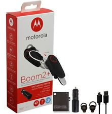 Motorola Boom 2+ PLUS -HD Flip Bluetooth Water Resistant Durable W/ Car Charger