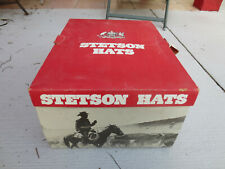 Vintage Western Stetson Beaver 3 Xxx Hat With Box Small 6 1/2