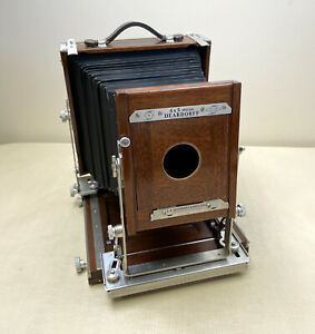 Vintage Deardorff 4x5 Special Folding View Camera w/Spring Back & Lens Board