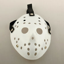 Freddy Vs Jason Halloween Horror Hockey White Clear Face Mask Friday The 13th