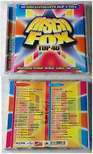 Disco Fox Top 40 - In-grid, F.R. David, Schnecke &/ Co., Ricardo,... DO-CD