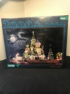 Buffalo Games 2000 Piece St. Basil's Cathedral Jigsaw Puzzle New & Sealed