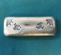 "2oz YPS ""Arachnikat 2.2"" 999+ fine silver bullion bar ""Yeager's Poured Silver"""