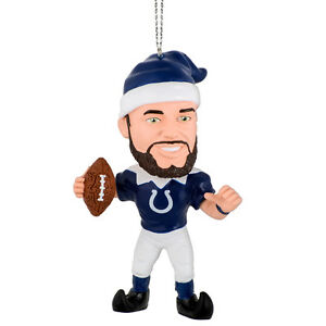 Indianapolis Colts Andrew Luck Christmas Tree Ornament