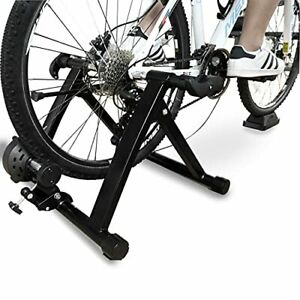 BalanceFrom Bike Trainer Stand Steel Bicycle Exercise Magnetic Stand with Fro...