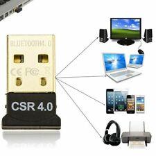 USB 2.0 Mini Bluetooth 4.0 CSR4.0 Adapter Dongle for PC LAPTOP WIN XP VISTA 7 8