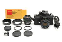 【MINT】Minolta X1 SLR MC 50mm f/1.4 28mm f/2.8 2 Lens Film Camera From JAPAN