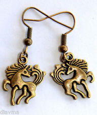 Pony Horse Pet Animal Equestrian Earrings