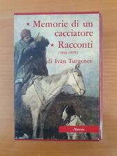 TURGENEV 1964 MURSIA Memorie Di Un Cacciatore Racconti
