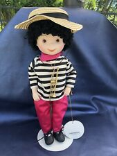 Rare Vintage Disney's it's a small world Porcelain doll.South American boy
