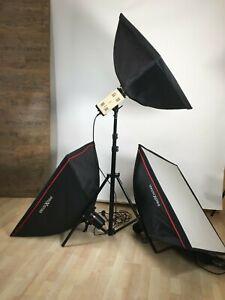 Fotostudio Blitz-Set Studioset Studioblitzanlage Studioblitzleuchte walimex + PS