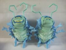 A BUG'S LIFE Talk N Sing TUCK & ROLL interactive plush toy figure set THINKWAY