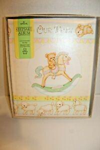 Vintage Hallmark Adoption Baby Book Album Keepsake Memory New in Box 1982 NOS