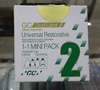 GC Fuji 2 Universal Restorative Glass Ionomer Cement Mini Pack.