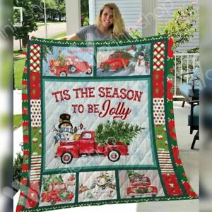Christmas Quilt Cover Blanket For Queen Size Bed Duvet Soft Warm Comforters