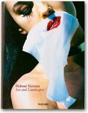 Helmut Newton Sex and Landscapes  (2004 Hardcover) Shrink Wrap Sealed  Excellent