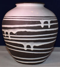 Design Vase Schloßberg 22-17 Schlossberg Roulette Liesel Spornhauer 50s 60s WGP