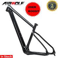 T1000 Aero Carbon Frame mtb 29ER Boost Mountain Bike Bicycle Frameset Thru axle