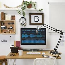 auna USB Kondensator Studio Mikrofon + Mikrofonarm Nierencharakteristik blau