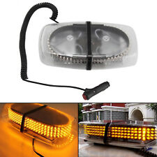 Hot 12V LED Amber Warning Strobe Recovery Car Flashing Magnetic Beacon Light UK