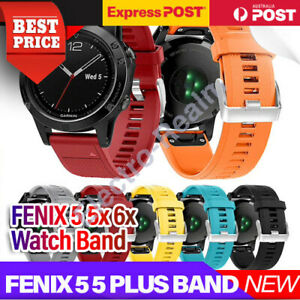 Replacement Silicone Sport Band Strap For Garmin Fenix 5/5 Plus/5x Plus/6x