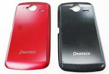 New OEM AT&T Red / Black Pantech P9070 Burst 4G Back Battery Rear Cover Door
