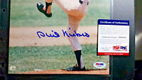 Phil Niekro SIGNED 8x10 Photo PSA/DNA AUTOGRAPHED Braves, Indians, Yankees HOF