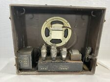 Vintage tube Guitar amplifier speaker case radio receptor 1940s - 1950s