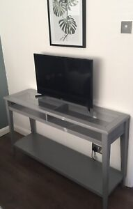 IKEA LIATORP Console Table Grey