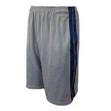 And1 Mens Grey Blue Breathable Adjustable Basketball Sports Gym Shorts UK Medium