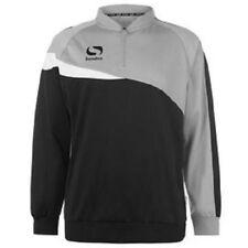 SONDICO Mens Black Grey & White 1/4 Zip Spirit Sports Sweater Top XL BNWT