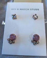 MICHAEL KORS MKJ64050791 Easy Opulence Mix & Match Studs Earring NWT $95