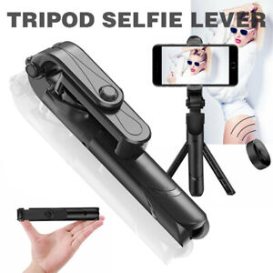4 in 1 Wireless Selfie Stick Universal Tripod Extendable Remote Camer holder