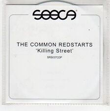 (FU783) The Common Redstarts, Killing Street - DJ CD