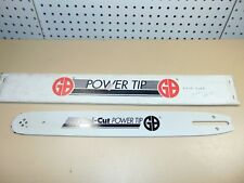 "Nos GB Mini-Cut Power Tip 16"" Chainsaw Bar PO16-50CR, 077-160 Stens"